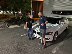 Noelia Martinez with new bmw (Autolinepreowned) Tags: autolinepreowned highestrateddealer drivinghappiness atlanticbeach jacksonville florida