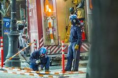 Men working below zero temperature. (Capitancapitan) Tags: men working below zero cold winter neury luciano pop rock pentax photo street colors