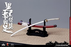 COOMODEL 20181215 CM-SE041 Black Cattail Armor of Oda Nobunaga 织田信长黑系南蠻胴具足 - 15 (Lord Dragon 龍王爺) Tags: 16scale 12inscale onesixthscale actionfigure doll hot toys coomodel samurai