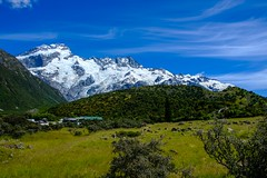 20181227 001 Mt Cook Hooker Valley (scottdm) Tags: 2018 december hike hookervalley mountcook mountcooknationalpark nationalpark newzealand southisland summer travel aoraki