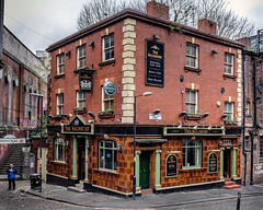 Pub on the Corner (keithbellis) Tags: alehouse boozer oxfordroad pub littleireland salisbury manchesterpub manchester purple