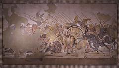 MANN - Battaglia di Isso (giuseppesavo) Tags: pentax pp9354 photivo pentaxda40xs ks1 linux ubuntumate gimp gmic italia italy napoli naples museo mann dario macedoni mosaico greco ellenistico alessandro isso casadelfauno