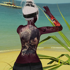 Okiya - Sarya skin 2_24_19 back (Justine Flirty) Tags: tattoo fantasy color