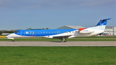 G-RJXE (AnDyMHoLdEn) Tags: bmi embraer egcc airport manchester manchesterairport 23l