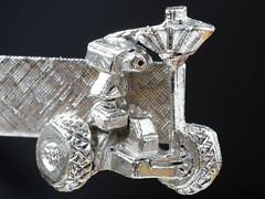 Lunar Rover Tie Clip (lenswrangler) Tags: lenswrangler digikam macromondays jewelry lunar rover tieclip apollo apollo15 nasa