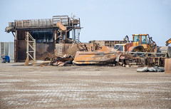 In the harbour (AstridWestvang) Tags: denmark hirtshals industry machines harbour