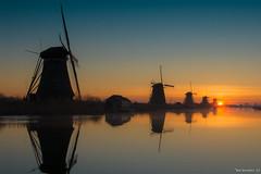 Kinderdijk (Bas Broeders) Tags: zonsopkomst kinderdijk sunrise windmills windmill unesco heritage worldheritage
