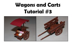 Wagons and Carts Tutorial #3 (-soccerkid6) Tags: lego moc creation tutorial technique guide cart wagon peddler market