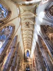 Engel, Orgel und Decke (guenther_haas) Tags: ulm minster ulmermünster decke engel erzengel orgel germany deutschland olympus omd em5 mzuiko 714mm pro fhdr wideangle weitwinkel