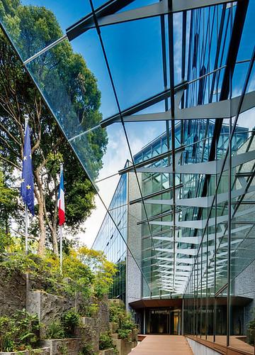 新フランス大使館の写真