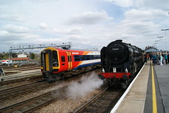 70000 (Gricerman) Tags: southwesttrains class159 159004 70000 britanniaclass britannia salisbury salisburystation