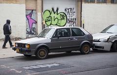 1984 Volkswagen Rabbit GTi (vetaturfumare - thanks for 3 MILLION views!!!) Tags: volkswagen rabbit gti golf mki mk1 marki mark1 astoria nyc graffiti