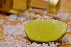 Citrus + Condiment + In A Bottle (Caroline.32) Tags: macro macromondays citrus condiment tequila salt lime nikond3200 50mm18 extensiontube12mm redux2018