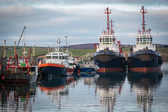 Scapa Pier (MBDGE >1.5 Million Views) Tags: orkney tugs pilot boat ship harbour scotland scapaflow marine maritime sea bay reflection still canon brexit uk europe scapa pier winter