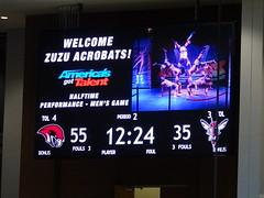 Scoreboard Snapshot (dougmartin571) Tags: roanokecollege lynchburghornets roanokemaroons maroonsathletics basketball americasgottalent agt zuzuacrobats maroonathletics roanokecollegeathletics
