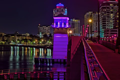 Royal Park Bridge, City of West Palm Beach, Palm Beach County, Florida, USA / Built 1929; reconstructed 1959; replaced 2005 (Photographer South Florida) Tags: westpalmbeach palmbeachcounty city cityscape urban downtown skyline southflorida density centralbusinessdistrict skyscraper building architecture commercialproperty cosmopolitan metro metropolitan metropolis sunshinestate realestate highrise royalparkbridge townofpalmbeach palmbeach clearlake