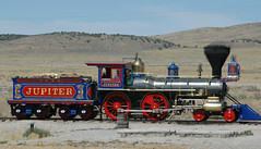Jupiter replica (D70) Tags: jupiter central pacific railroad 60 440 steam locomotive owned made history joined union no 119 promontory summit utah during golden spike ceremony commemorating completion first transcontinental 1869