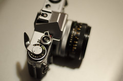Canon Canon Canon (aaron_gould) Tags: camera slr canon ae1 happy 35mm 50mm lens shutter iso bokeh nikkor d7000