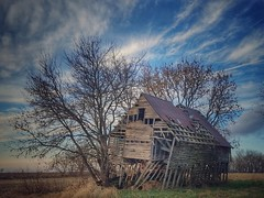 blowin' in the wind... (BillsExplorations) Tags: barn crib ruraldecay oldbarn old forgotten abandoned farm country decay wind