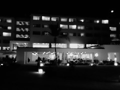 Night of the Iguana (knightbefore_99) Tags: mexico mexican huatulco tangolunda oaxaca cool night awesome dreams iguana darl bw black white tropical nuit fun