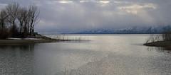 Boat Channel (arbyreed) Tags: arbyreed water lake willardbay freshwaterlake reservoir freshwwaterreservoir manmadelake greatsaltlake ogden perry willardcity sunrays cloudy cold dark winter