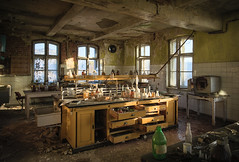 LAB (jkatanowski) Tags: urbex urban exploration europe poland lab laboratory glass mess destruction decaying decayed derelict destroyed decay sunlight forgotten lost lostplace indoor interior sony a7m2 chemistry chemicals