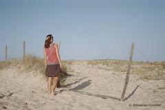 Le Passage (Sébastien Combet) Tags: molietsetmaa canon canonet fujichrome sensia reversal inversible diapositive summer plage beach landes