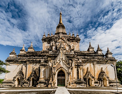 Discovering Bagan (bransch.photography) Tags: ancient asian landscape asia buddhist old myanmar shrine culture religious historical travel beautiful stupa traditional burma sky architecture bagan religion buddhism temple pagoda