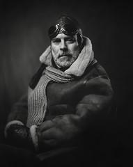 AVIATOR (Waldemar Markiewka) Tags: aviator portrait korona8x10 petzval