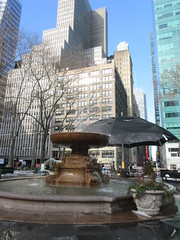 2019 Big Umbrella Academy in Bryant Park NYC 1344 (Brechtbug) Tags: big umbrella bryant park nyc 2019 february 02132019 new york city 6th avenue near 42nd st behind public library midtown manhattan the academy netflix tv series comic book based starting friday 15th bumbershoot umbrellas