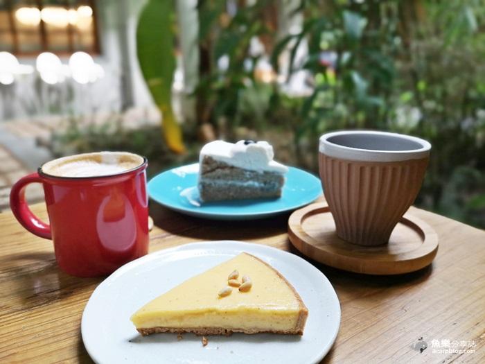 【台北大同】鹹花生Salt Peanuts咖啡館|大稻埕迪化街|老宅變身文青咖啡店 @魚樂分享誌