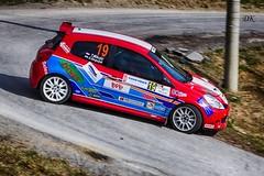 Sandi Garguljak HRV-Tomislav Mikulic  AK Zagorje Renault Clio R3 izlijeće (Dag Kirin) Tags: sandi garguljak hrvtomislav mikulic ak zagorje renault clio r3 izlijeće rally kumrovec 2019