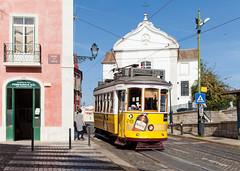 In der Straßenbahn-Traumstadt (trainspotter64) Tags: strasenbahn streetcar tram tramway tranvia tramvaj tramwaje electricó portugal lissabon lisboa carris remodelado