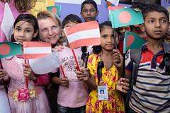 Außenministerin Karin Kneissl in Bangladesch