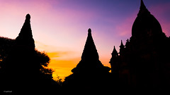 Bagan (Laszlo Horvath.) Tags: nikond7100 sigma1835mmf18art sunset silhouette bagan myanmar burma colors nikon