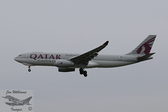 Qatar Cargo Airbus A330-243F (jonny4x4uk) Tags: airbus boeing a350 a320 a340 a380 a321 a319 aerlingus virginatlantic americanairlines b787 b747 b737 b777 a330 b757 landor britishairways ba speedbird deltaairlines oneworld retro lot unitedairlines airnewzealand aeroflot max8 cathaypacific thaiairlines airmalta qantas turkishairlines aircanada boac mea middleeastairways aegean srilankan alitalia neo bea airserbia airindia malaysiaairlines dhl cargo jetairways ana singaporeairlines saudia airchina airastrana gulfair koreanair airbridgecargo abc tunisair bulgarianairlines pia pakistaninternationalairlines qatar freighter airfreight heathrow lhr london egll airport avgeet 27r 27l 09r