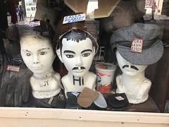 Dummies in a shop window (C-Monster) Tags: dummies gorra hat bigote mexicocity ciudaddemexico cdmx