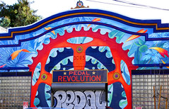 #9; my xmas day tradition is a long long photo-op walk; mural / streetart on 21st street 12-18* (nolehace) Tags: xmas day tradition long photoop walk 2018 christmas mural 21st street nolehace winter fz1000 1218 pedal revolution sanfrancisco pedalrevolution