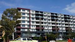 New flats on Northbourne Ave (spelio) Tags: act architecture construction nsw australia feb 2019
