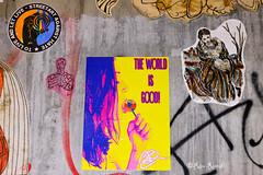 Roma. Ostiense. Street art by Alessia Babrow, Lus57, Streetartee, me (R come Rit@) Tags: italia italy roma rome ritarestifo photography streetphotography urbanexploration exploration urbex streetart arte art arteurbana streetartphotography urbanart urban urbanculture graffiti graff graffitiart artwork contemporaryart artecontemporanea artedistrada underground wall walls wallart muro muri streetartroma streetartrome graffitiroma graffitirome urbanartroma streetartitaly italystreetart romestreetart romastreetart romegraffiti romeurbanart alessiababrow lus57 me ostiense poster posterart colla glue paste pasteup nohatefamily streetartagainsthate toliveandletlive spreadlove againsthate theworldisgood