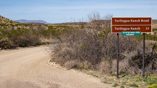 Terlingua Ranch Road