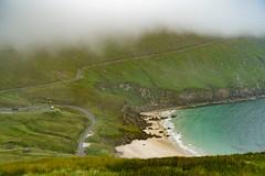 The Beach (*Capture the Moment*) Tags: 2018 achillisland clouds farbdominanz himmel holiday ireland irland june landscape landschaft rain regen sky sonya6300 sonye18200mmoss sonyilce6300 trip wetter wolken cloudy green grün wolkig