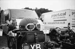Ricoh 500RF - Agfa APX 100 (21) (meniscuslens) Tags: helmet motorbike kop hill climb princes risborough buckinghamshire vintage film camera ricoh 500rf agfa apx