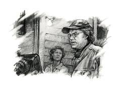 Tim Robbins sketch (jasoux) Tags: drawing art artwork sketch nz timrobbins portrait pencildrawing deadmanwalking filmdirector