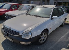 1995 Ford Scorpio Wagon (FromKG) Tags: ford scorpio wagon white car kragujevac serbia 2019