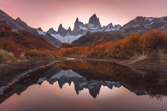 Reflections of Patagonia (Iurie Belegurschi www.iceland-photo-tours.com) Tags: adventure beautiful daytours dreamscape earth extremeterrain enchanting extreme ecosystem fineart fineartlandscape fineartphotography fineartphotos guidedphotographyworkshops guidedphotographytour guidedtoursiceland guidedtoursiniceland icelandphototours iuriebelegurschi iceland icelandic icelandphotographyworkshops icelandphotographytrip landscape landscapephotography landscapephoto landscapes landscapephotos mountain mountains nature nationalpark outdoor outdoors phototours phototour photographyiniceland photographyworkshopsiniceland tranquil reflection range summer serene sunset tours travel travelphotography trees tree view workshops workshop water montefitzroy fitzroy patagonia chile argentina