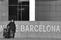 Dark Side (Kasabox) Tags: barcelona bcn black white blanco negro bn bw people homeless poor pobre pobreza city street robado calle