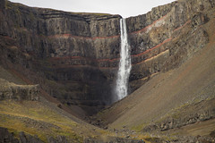 Hengifoss (^Diana^) Tags: 5197a hengifoss iceland water waterfall nature travel warter cold ice volcano volcanicactivity rock