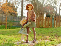 Happy St. Patrick's Day! (Forest_Daughter) Tags: fairyland littlefee ante minifee rena bjd balljointed doll group