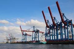 ¤ Hamburg Harbour | GERMANY (b.e.r.n.d.) Tags: hamburg deutschland germany elbe harbour hafen industie industry